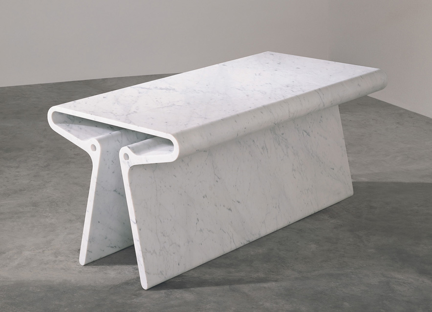 10. Marc Newson - Extruded Table_white-Resized