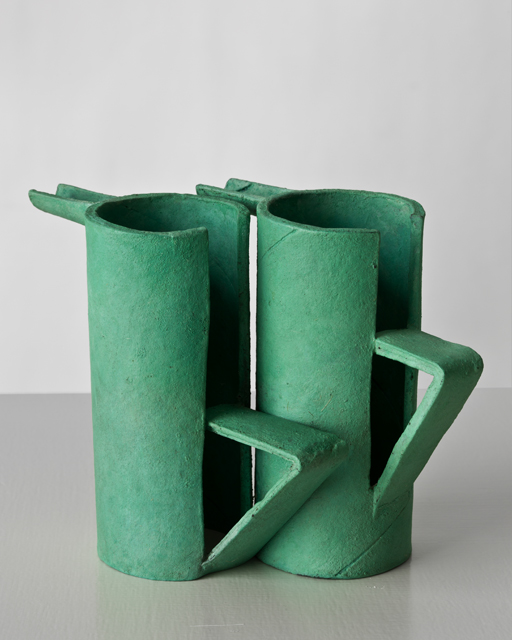 12. Ricky Swallow_Twin Pots_Malachite (after P.S.) 2011-Resized