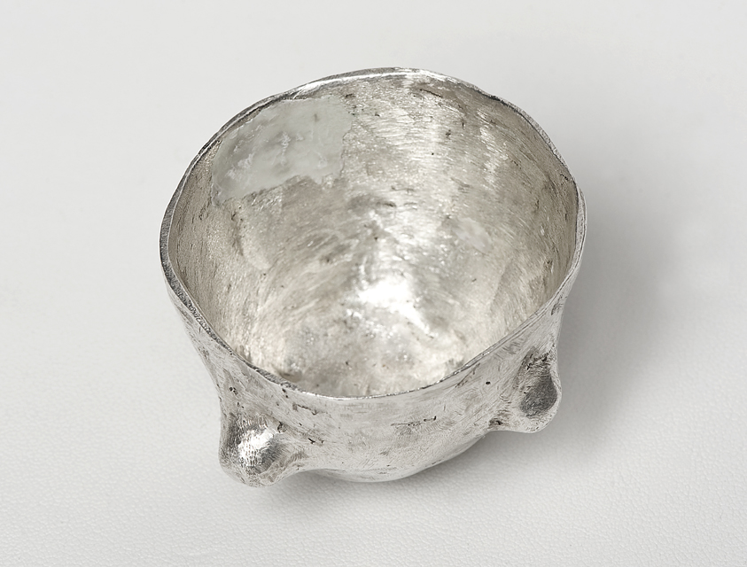 Tony Clark_Silver egg cup_2013-Resized